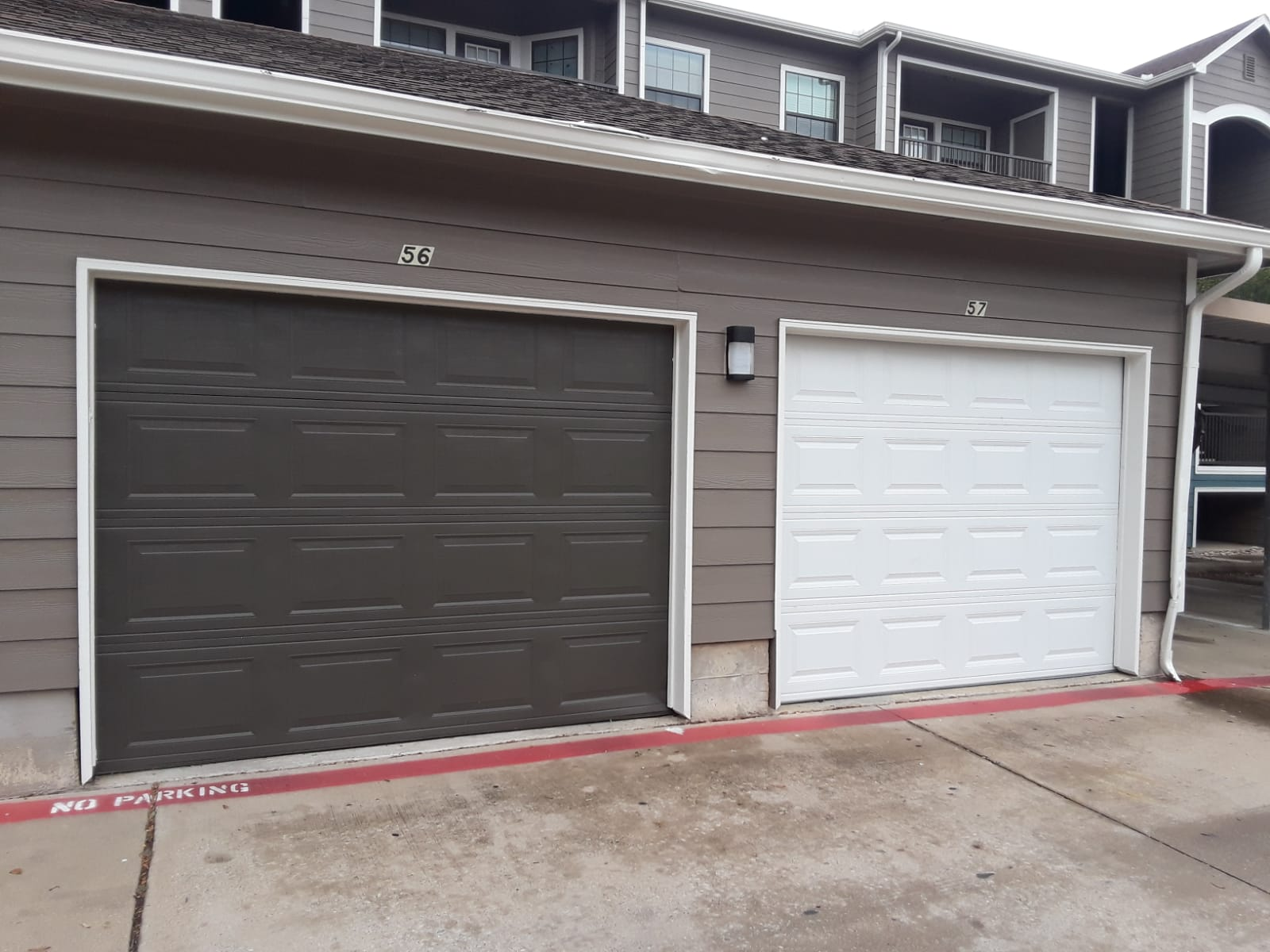 New Garage Door Installation For A Single Car Garage Dallas Tx Metro Garage Door Repair Dallas Tx
